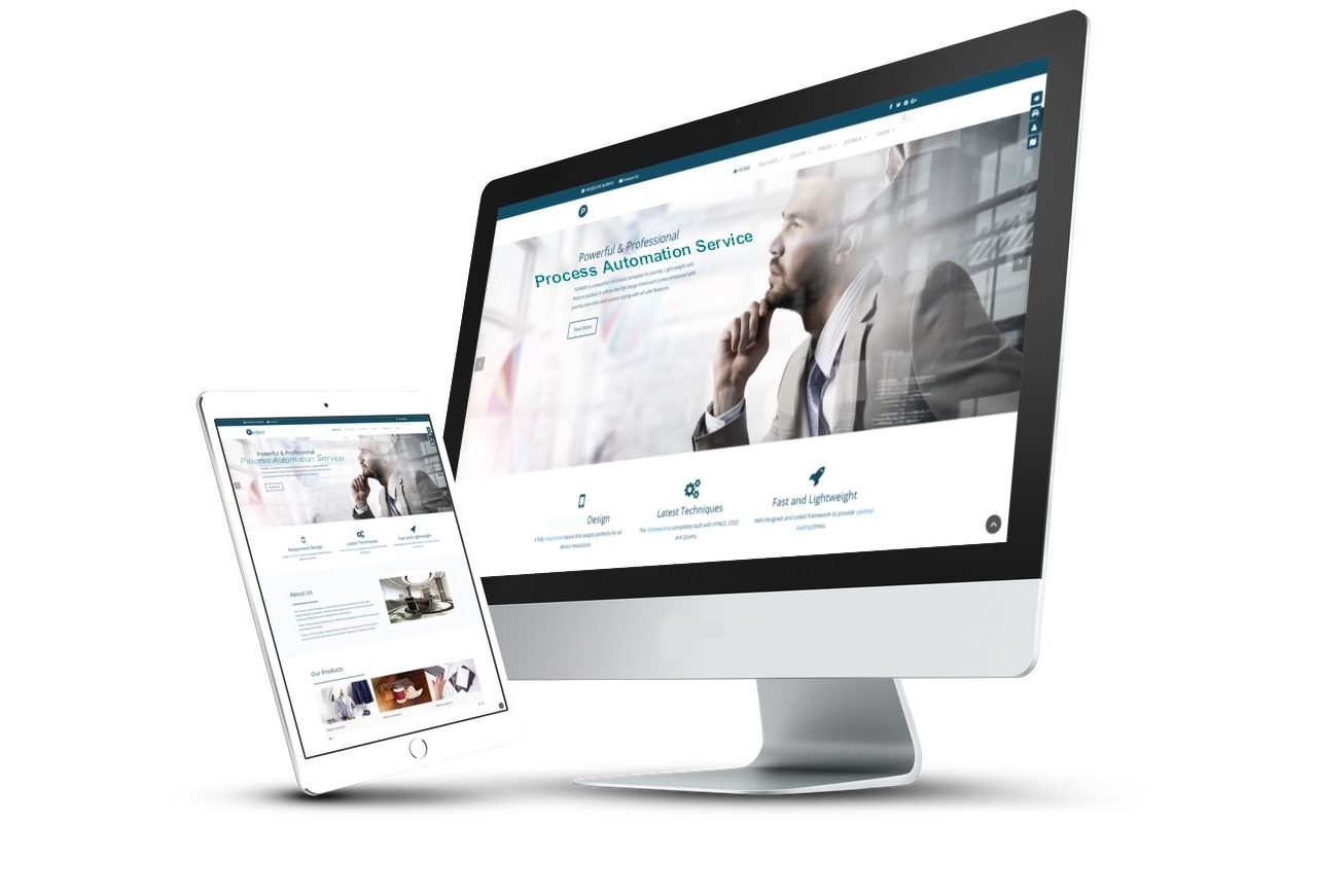 Power Joomla Template